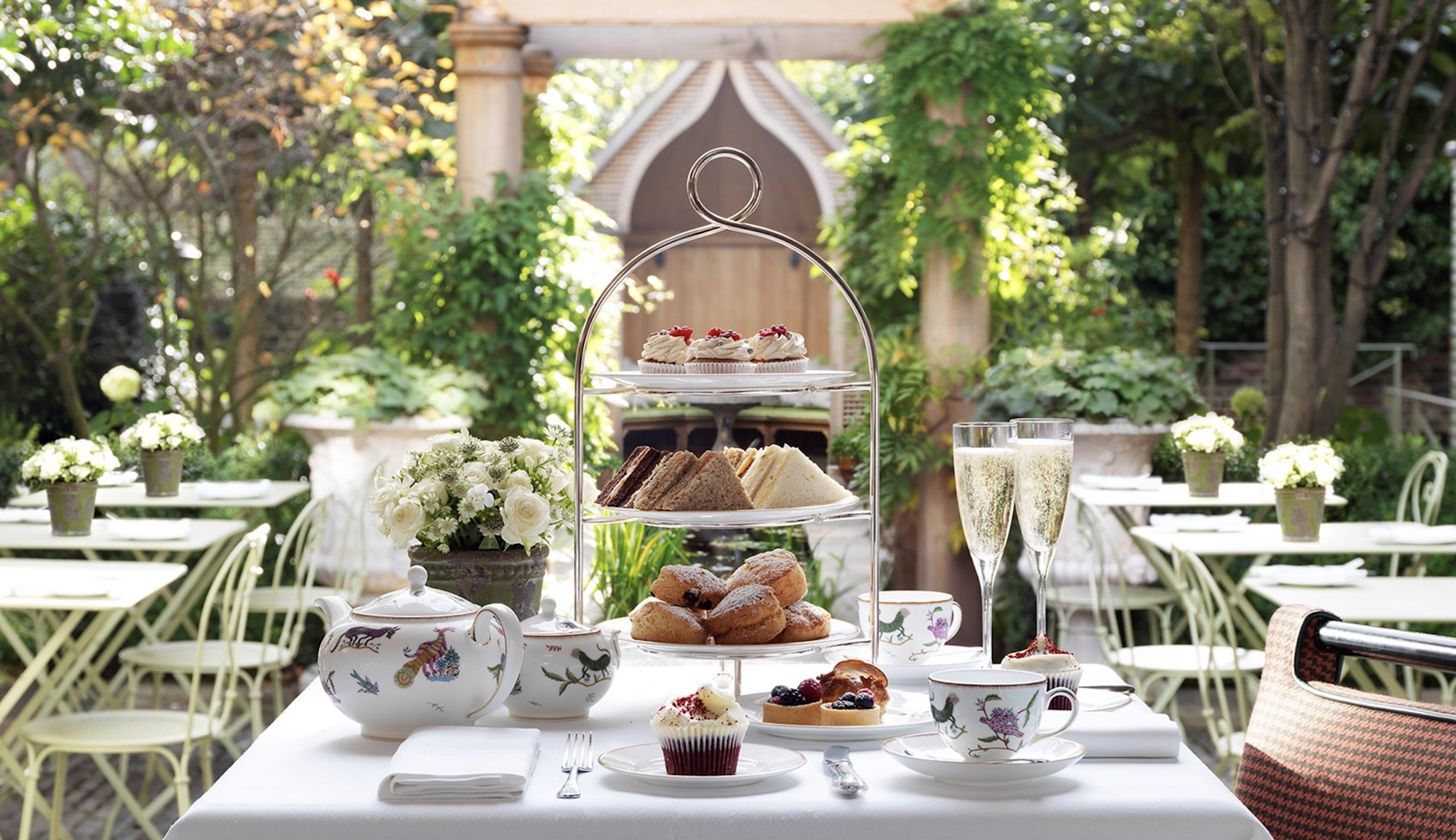 afternoon tea, garden tea, high tea, afternoon tea hidden gem